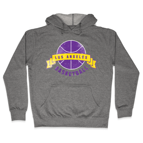 City of Lost Angels Basketball Hooded Sweatshirt