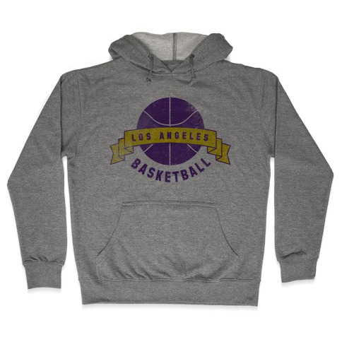 City of Lost Angels Basketball Hooded Sweatshirt