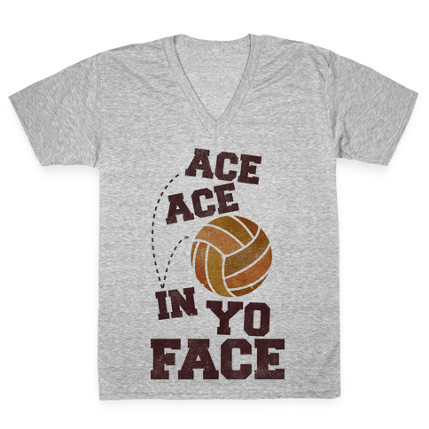 Ace Ace V-Neck Tee Shirt