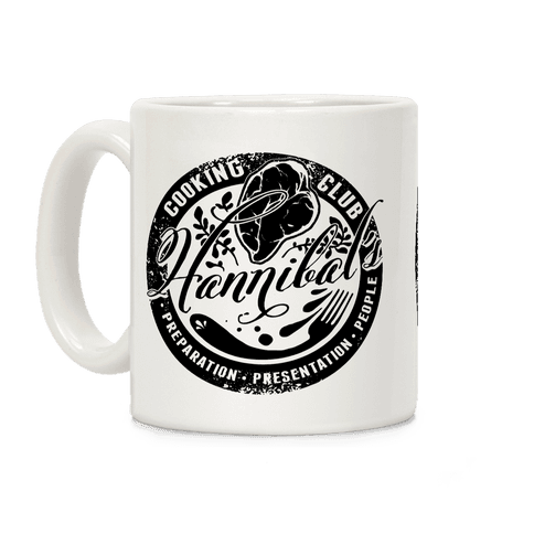 Hannibal's Cooking Club Coffee Mug