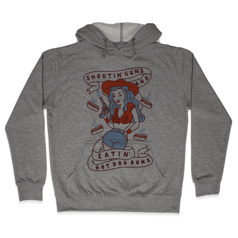 Buns And Guns Hooded Sweatshirt