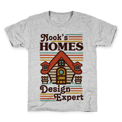 Nook's Homes Design Expert Kids T-Shirt