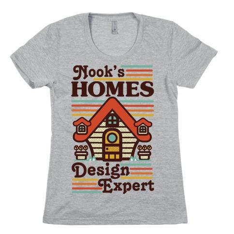 Nook's Homes Design Expert Womens T-Shirt