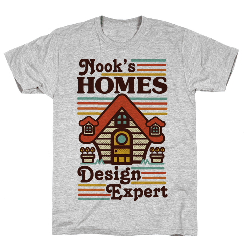 Nook's Homes Design Expert Mens T-Shirt