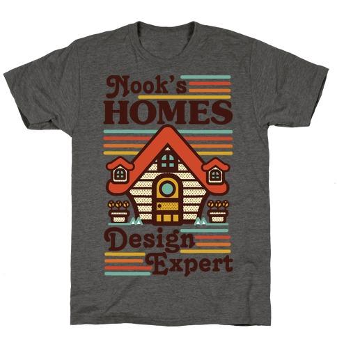 Nook's Homes Design Expert T-Shirt