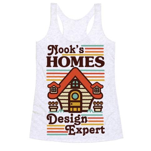 Nook's Homes Design Expert Racerback Tank Top