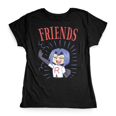 Best Friends Team Rocket James Womens T-Shirt