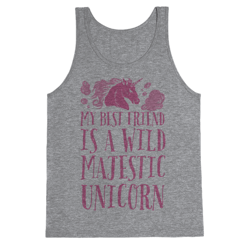 Wild Majestic Unicorn Tank Top