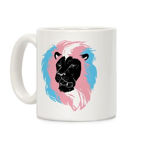Trans Lion Pride Coffee Mug