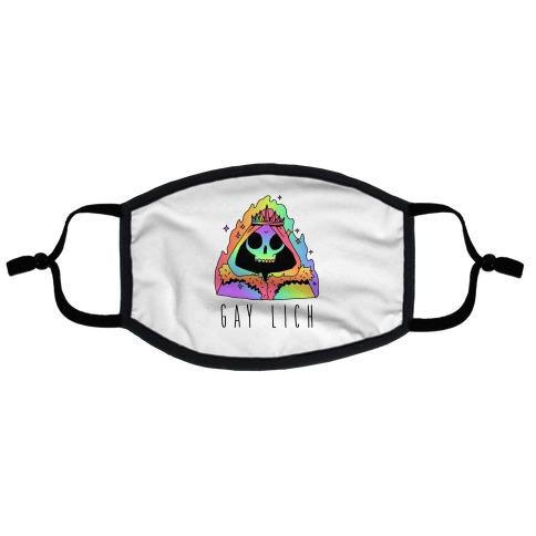 Gay Lich Flat Face Mask