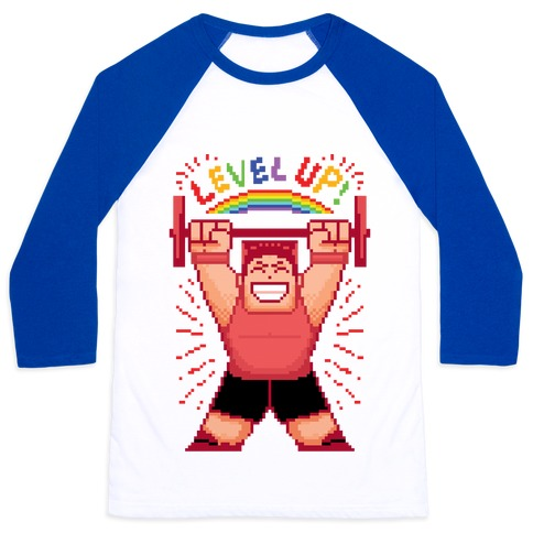 Level Up! Baseball Tee