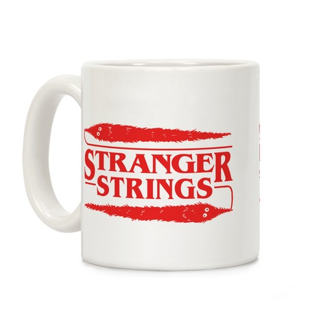 Stranger Strings Coffee Mug