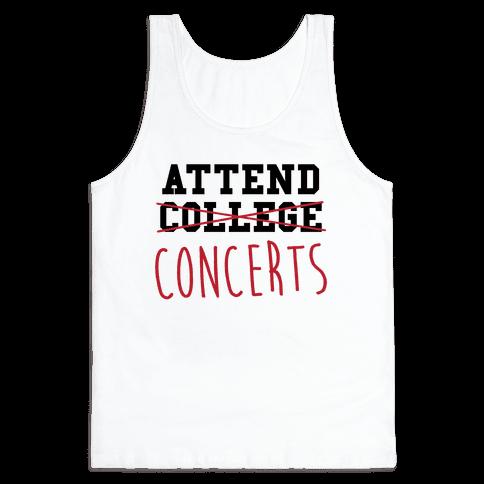 Concerts Tank Top