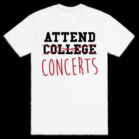 Concerts Mens T-Shirt