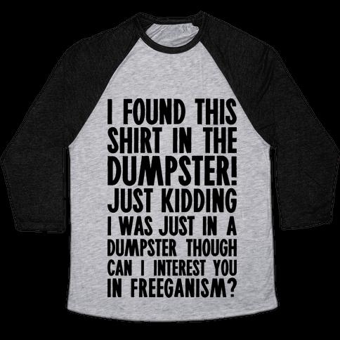 Cum dumpster shirt