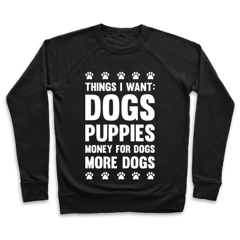 Things I Want: Dogs Pullover