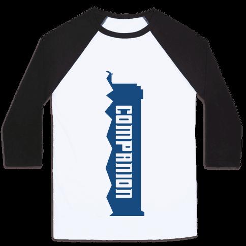Companion (Doctor and Companion Shirt) Baseball Tee