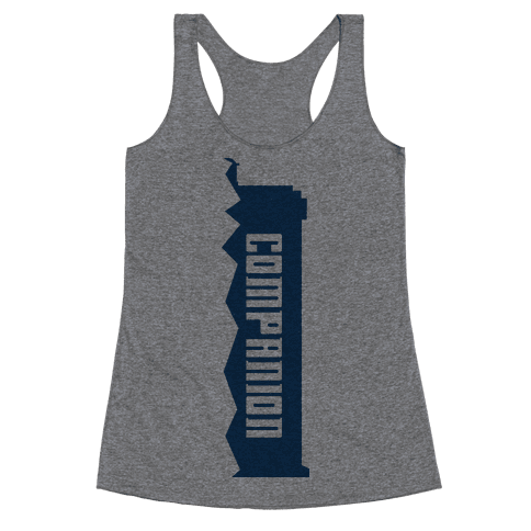Companion (Doctor and Companion Shirt) Racerback Tank Top