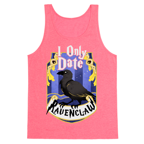 I Only Date Ravenclaw Tank Top