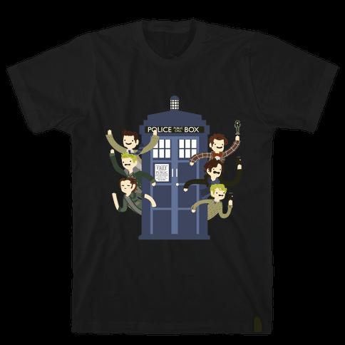 Superwholock Mens T-Shirt