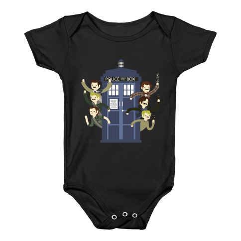 Superwholock Baby Onesy