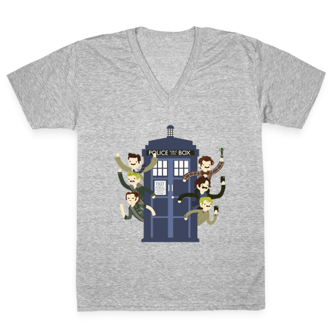 Superwholock V-Neck Tee Shirt