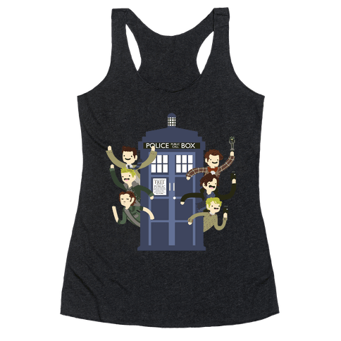 Superwholock Racerback Tank Top