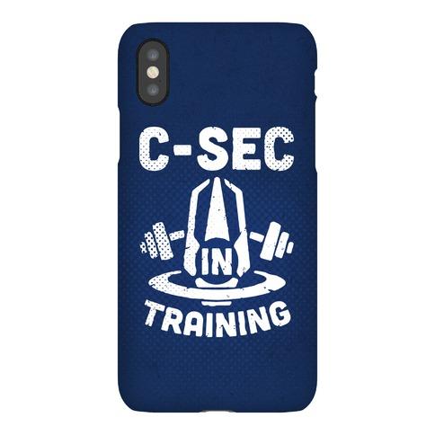 C-Sec In Training Phone Case