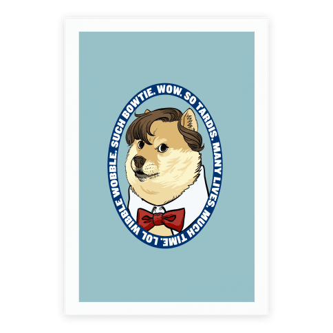 The Doctor Doge Poster