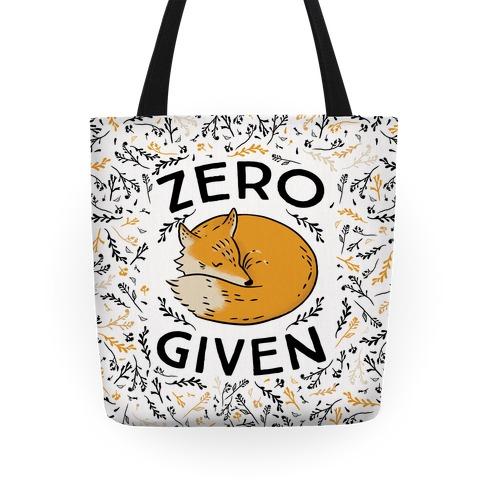 Zero Fox Given Tote