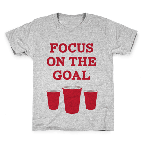Focus on the Goal Kids T-Shirt