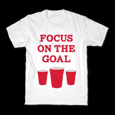 Focus on the Goal Kids T-Shirt