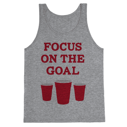 Focus on the Goal Tank Top