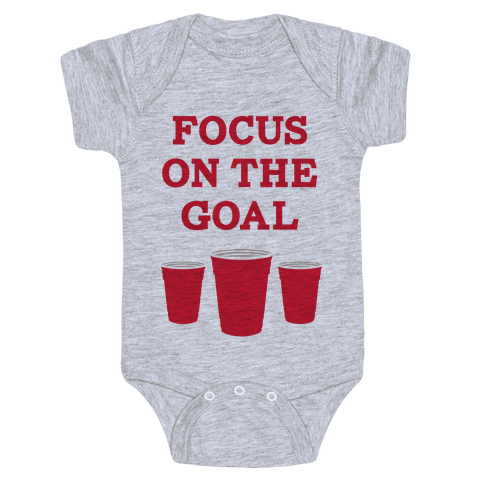Focus on the Goal Baby Onesy