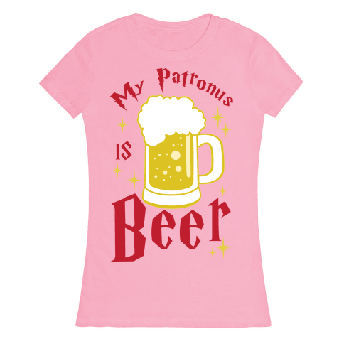 My Patronus Is Beer Womens T-Shirt