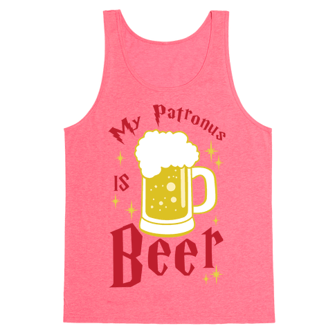 My Patronus Is Beer Tank Top