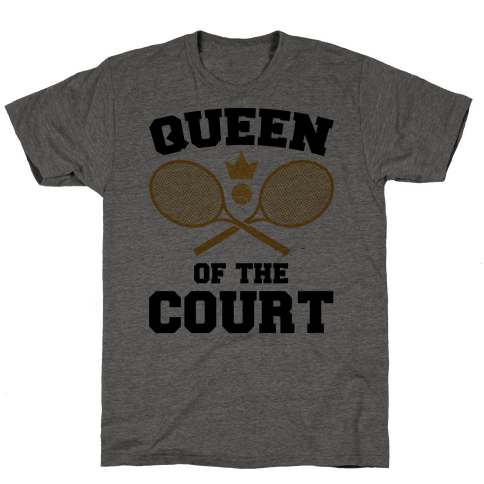 Queen Of The Court Mens T-Shirt