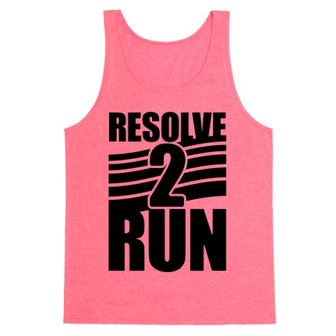 Resolve 2 Run Tank Top