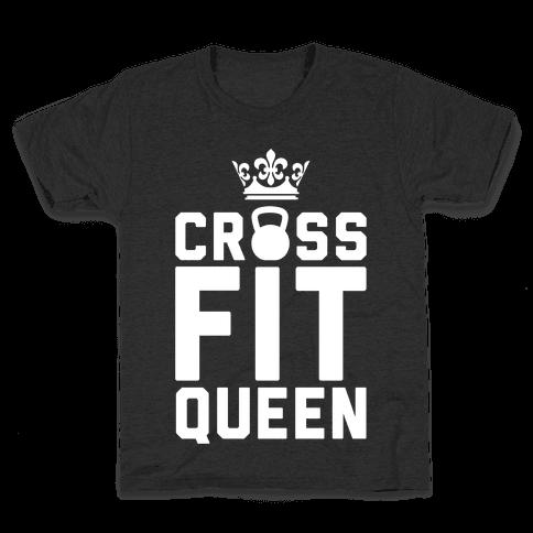 Crossfit Queen Kids T-Shirt