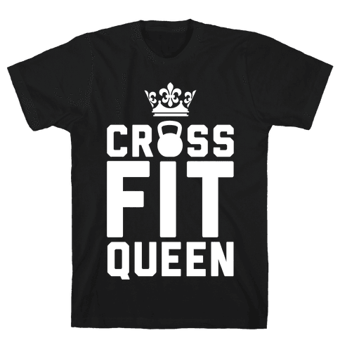 Crossfit Queen Mens T-Shirt