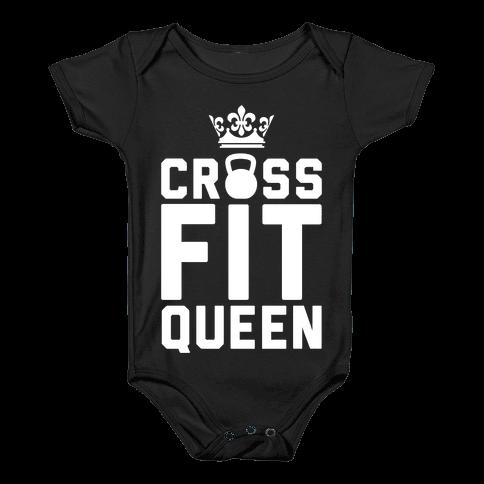 Crossfit Queen Baby Onesy