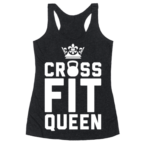 Crossfit Queen Racerback Tank Top