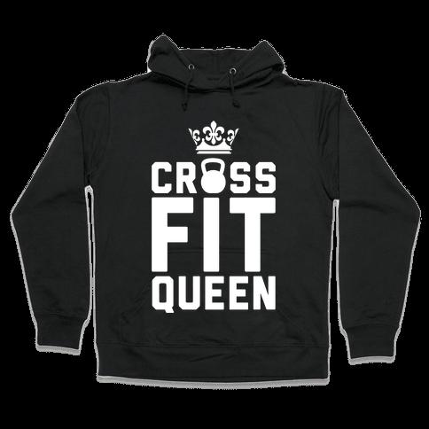 Crossfit Queen Hooded Sweatshirt