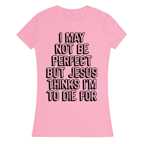 I May Not Be Perfect Womens T-Shirt