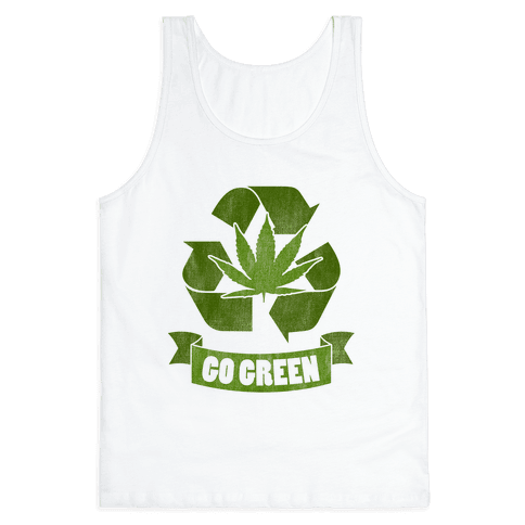 Go Green Tank Top