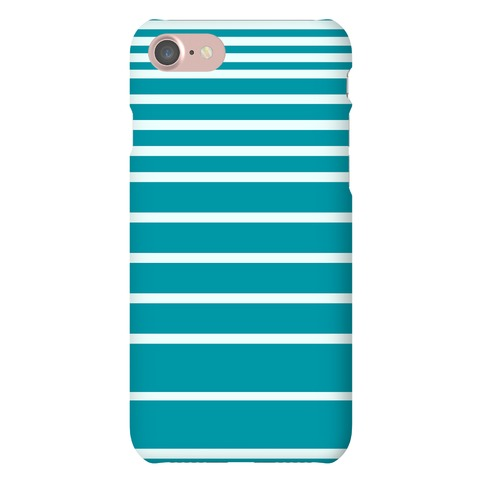 Teal Stripe Case Phone Case
