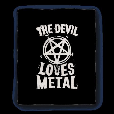 The Devil Loves Metal Blanket