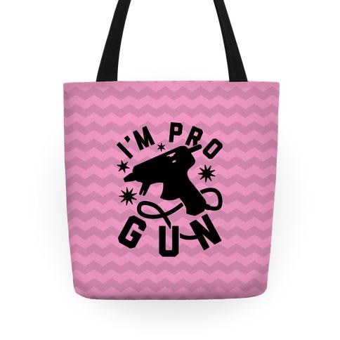 I'm Pro Glue Gun Tote
