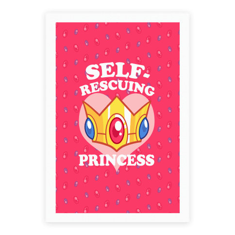 Self-Rescuing Princess Poster