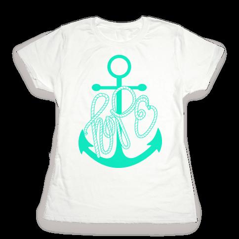 Hope (Green) Womens T-Shirt